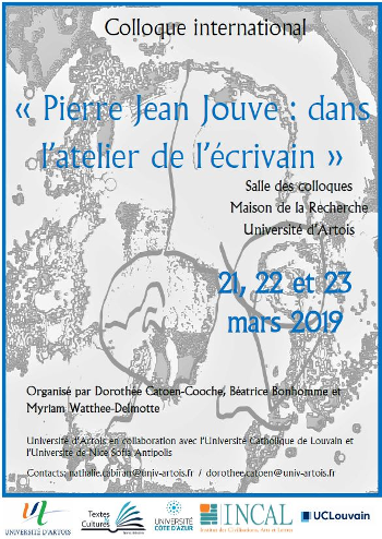 Colloque Jouve Arras 2019